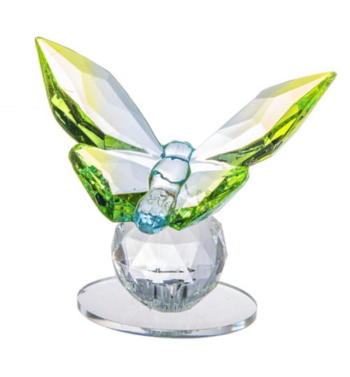 Ganz Butterfly Figurine, Green