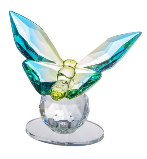 Ganz Butterfly Figurine, Blue/Green