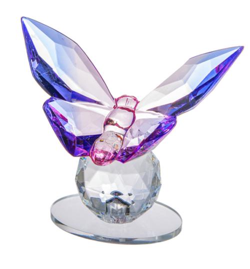 Ganz Butterfly Figurine, Purple
