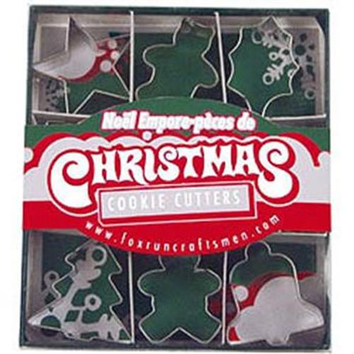 Fox Run Cookie Cutter Set, Christmas, 9-Piece (3647)