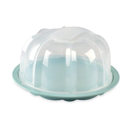 Nordic Ware Translucent Bundt Cake Keeper, 2-Piece (50022)