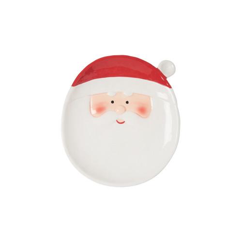C&F Enterprises Santa Claus Plate