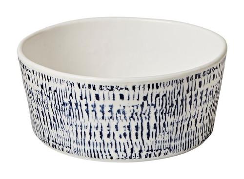 Merritt Tribal Blue Soup Bowl