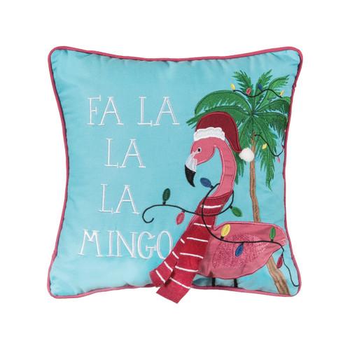 C&F Home Festive Flamingo Pillow