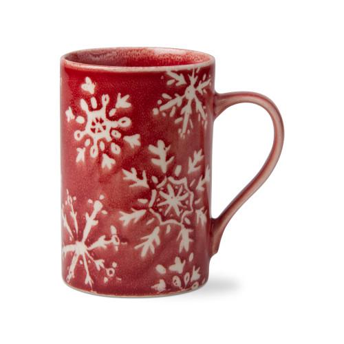 TAG Snowflake Mug, Red
