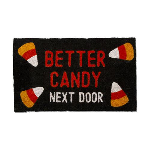 """TAG """"Better Candy Next Door"""" Halloween Doormat"""