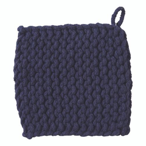 TAG Crocheted Trivet, Midnight Blue