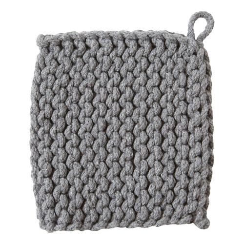 TAG Crocheted Trivet, Gray