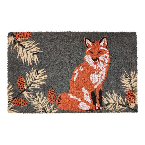TAG Fox & Pinecone Coir Mat