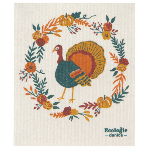 Now Design Swedish Harvest Turkey Dish Cloth