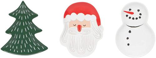 Now Designs Must Be Santa Shaped Dish Set