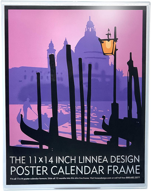 "Linnea Design Poster Calendar Frame, 11 x 14"""