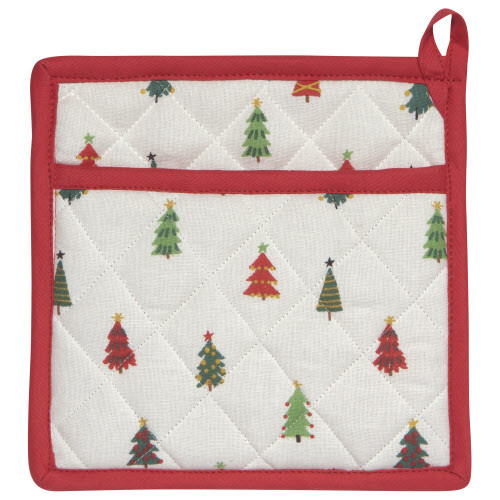 Now Designs Pot Holder, Classic Merry & Bright
