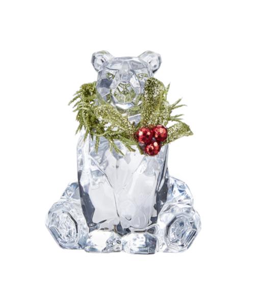 Ganz Krystal Mistletoe Polar Bear