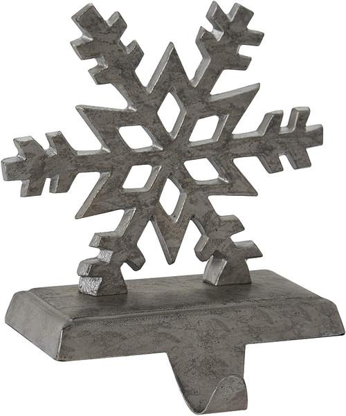 Park Designs Snowflake Stocking Holder, Galvanized (22-855G)