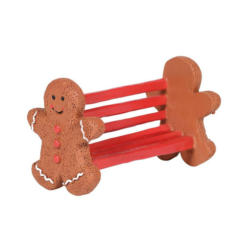 Department 56 Village Accessory, Gingerbread Bench