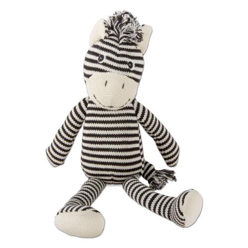 TAG Knit Zebra Plush