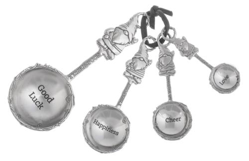 Ganz 4pc Measuring Spoons, Gnomes
