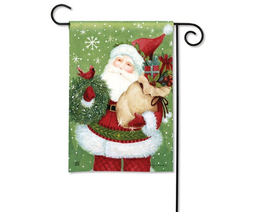 Studio M Santa Claus Garden Flag