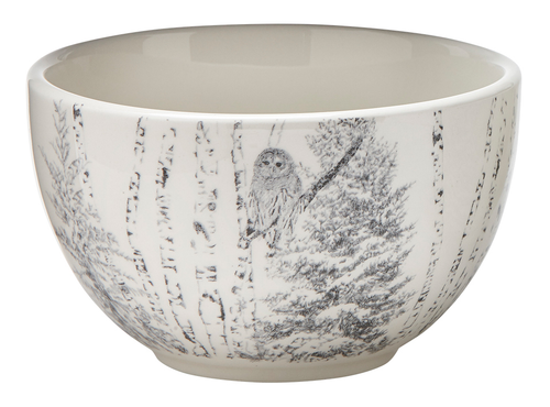 TAG Winter Sketches Bowl, Owl