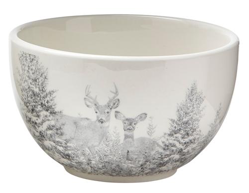TAG Winter Sketches Bowl, Deer