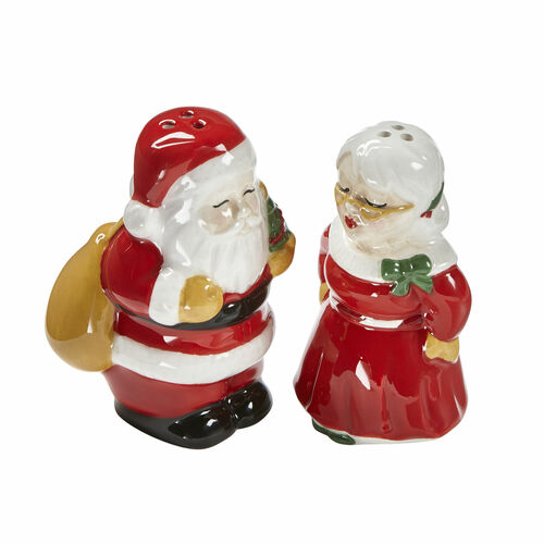 TAG Kissing Claus Salt & Pepper, Set of 2