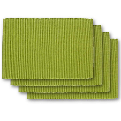 Design Imports India Spinach Placemat, Set of 4