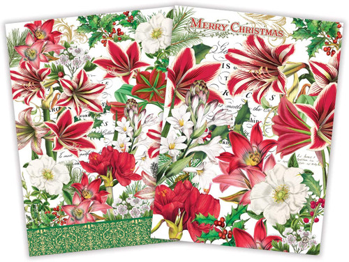 Michel Design Works Kitchen Towel, Merry Christmas (TOWS346)
