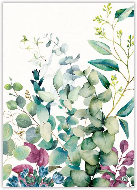 Michel Design Works Kitchen Towel, Eucalyptus & Mint (TOW365)