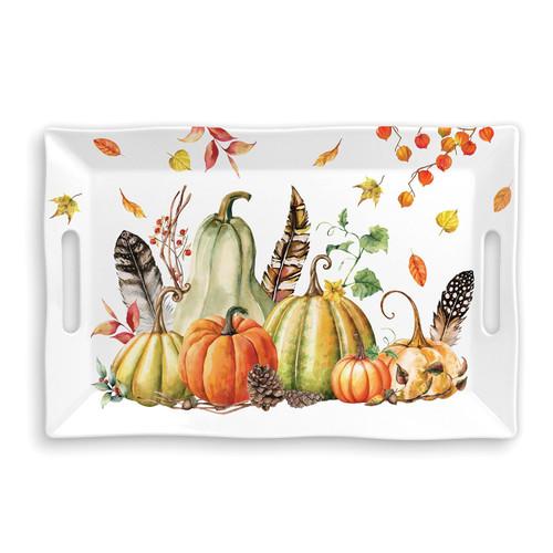 Michel Design Works Sweet Pumpkin Melamine Serveware Large Tray (SWTL349)