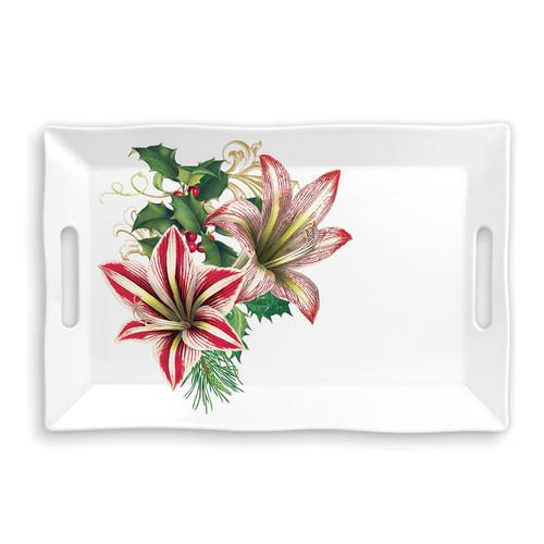 Michel Design Works Merry Christmas Melamine Serveware Large Tray (SWTL346)