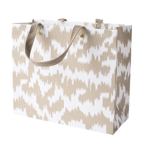 Caspari Large Gift Bag, Modern Moiré (10003B3)