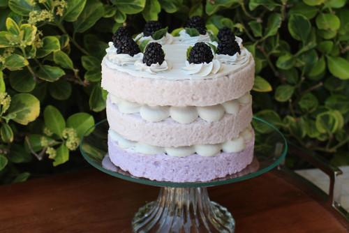 Just Dough It Replica Blackberry Triple Layer Cake