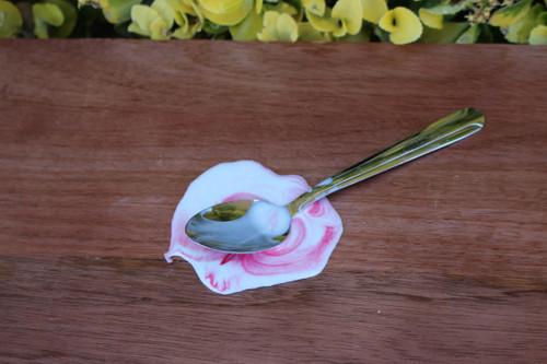 Just Dough It Replica Melting Ice Cream Spoon, Strawberry