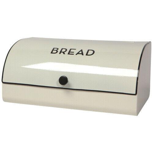 Now Designs Slanted Bread Bin, Ivory