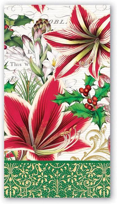 Michel Design Works Paper Hostess Napkins, Merry Christmas (NAPH346)