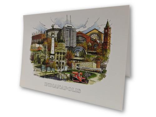 James Conner Gallery Indianapolis Stationery, Box of 8
