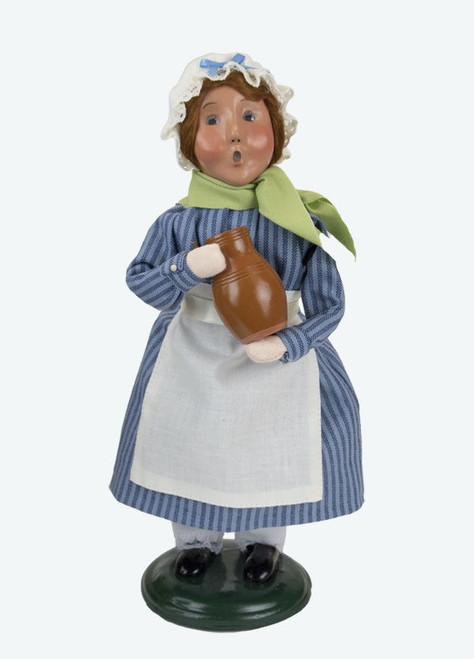Byers' Choice Caroler, Colonial Girl in Blue (5213)