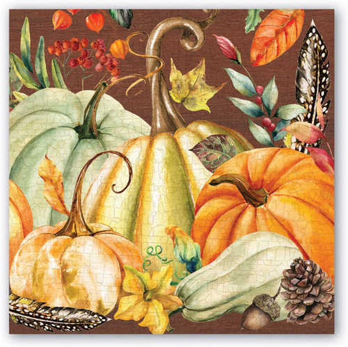 Michel Design Works Paper Beverage Napkins, Sweet Pumpkin (NAP349)