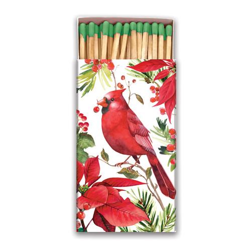 Michel Design Works Poinsettia Matchbox (MAT103)