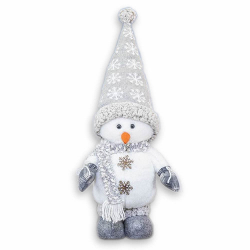 Hanna's Handiworks Snow Cloud Snowman Stander, Snowflake Hat