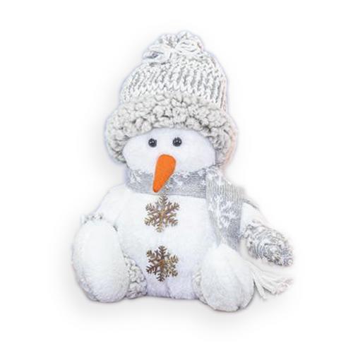 Hanna's Handiworks Snow Cloud Snowman Sitter, Beanie Hat