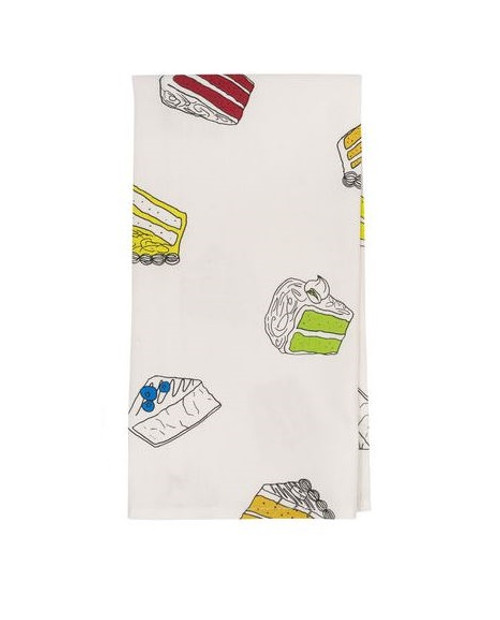 About Face Tea Towel, Pieces of Cake