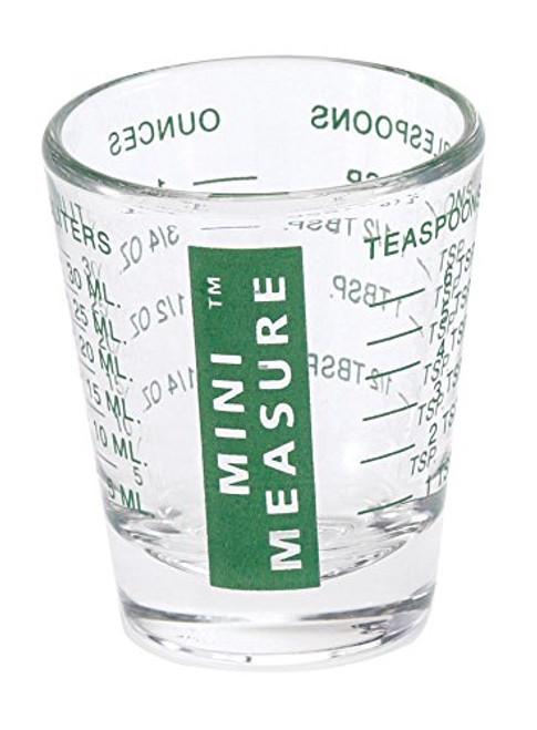 HIC Mini Measuring Glass, Green