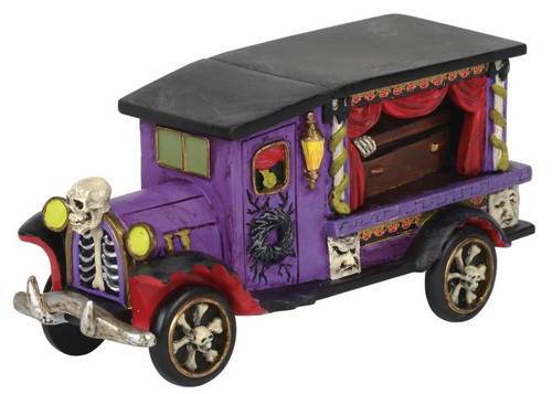 Department 56 Halloween Village Last Rites Ride