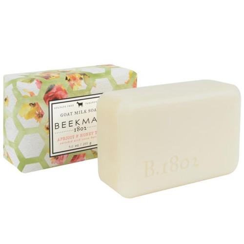 Beekman Apricot & Honey Tea Goat Milk Bar Soap,  9 oz.