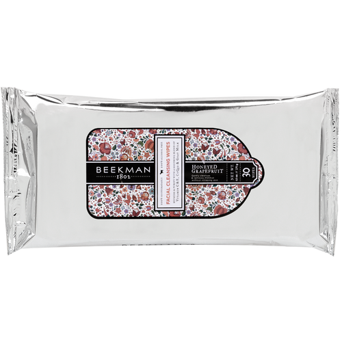 Beekman Honeyed Grapefruit Facial Cleansing Wipes