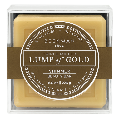 Beekman Lump of Gold Bar Soap, 8 oz.
