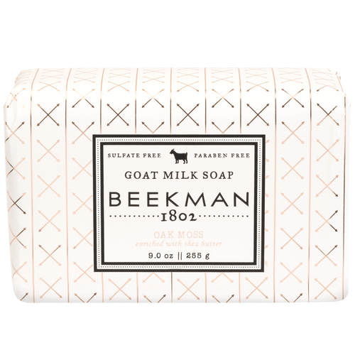 Beekman Oak Moss Goat Milk Bar Soap - 9 oz