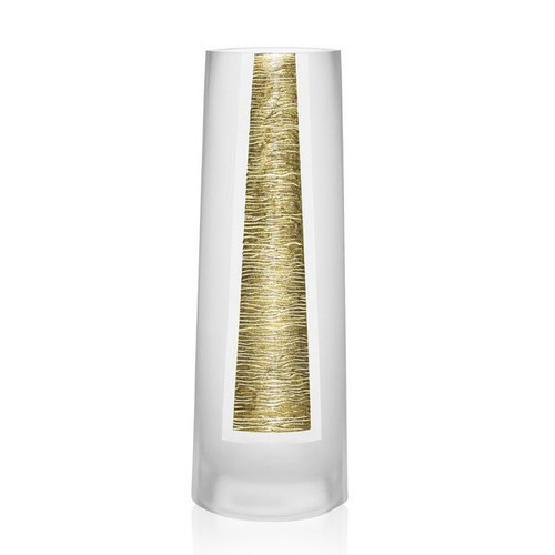 "Badash 14.5"" Gold Standard Vase (CD705)"